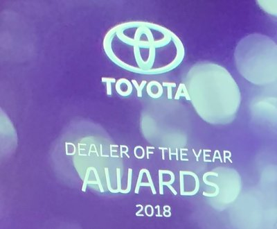 Toyota Dealer of the Year Awards 2018 image