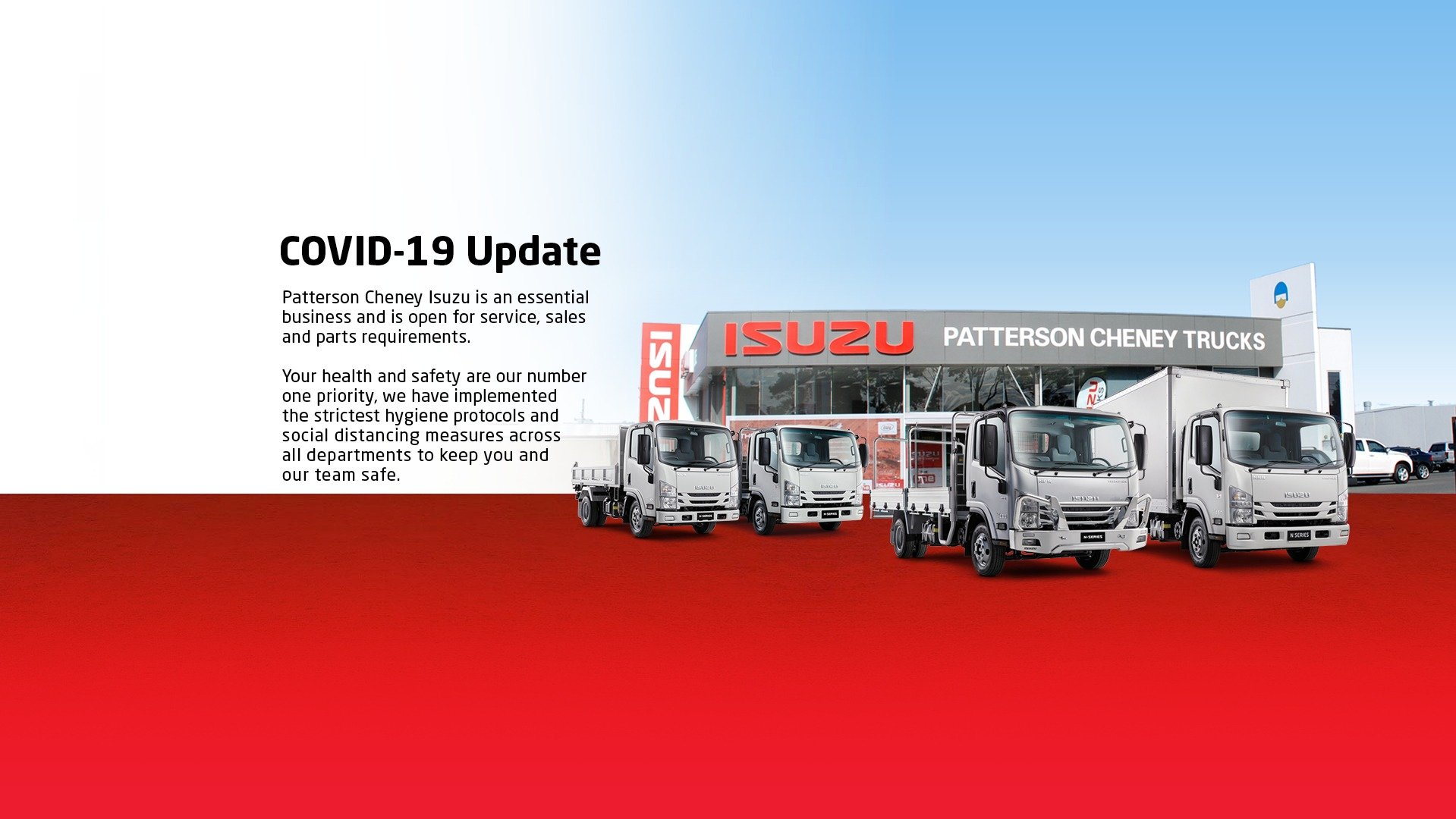 Patterson Cheney Isuzu Covid-19 update
