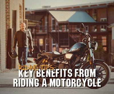 Key Benefits From Riding A Motorcycle image