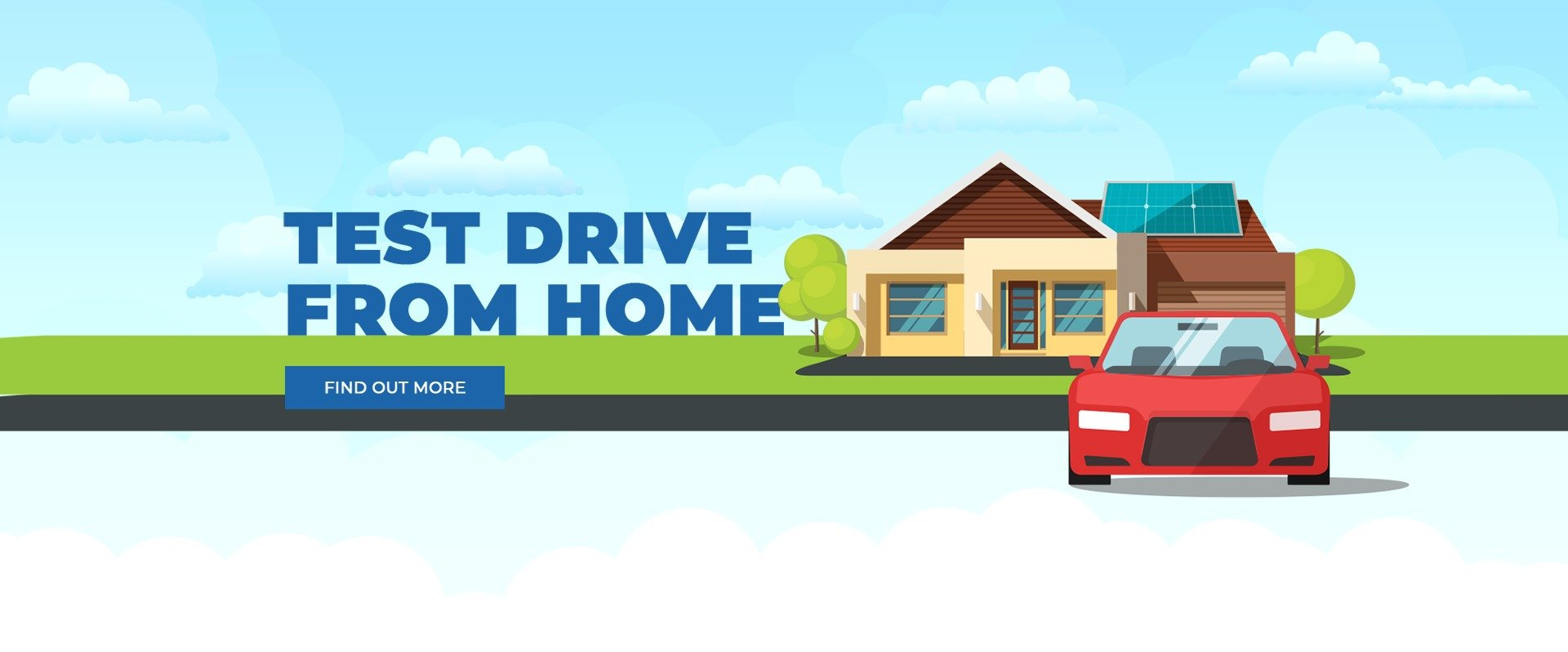 Dubbo Volkswagen | Test Drive From Home Banner