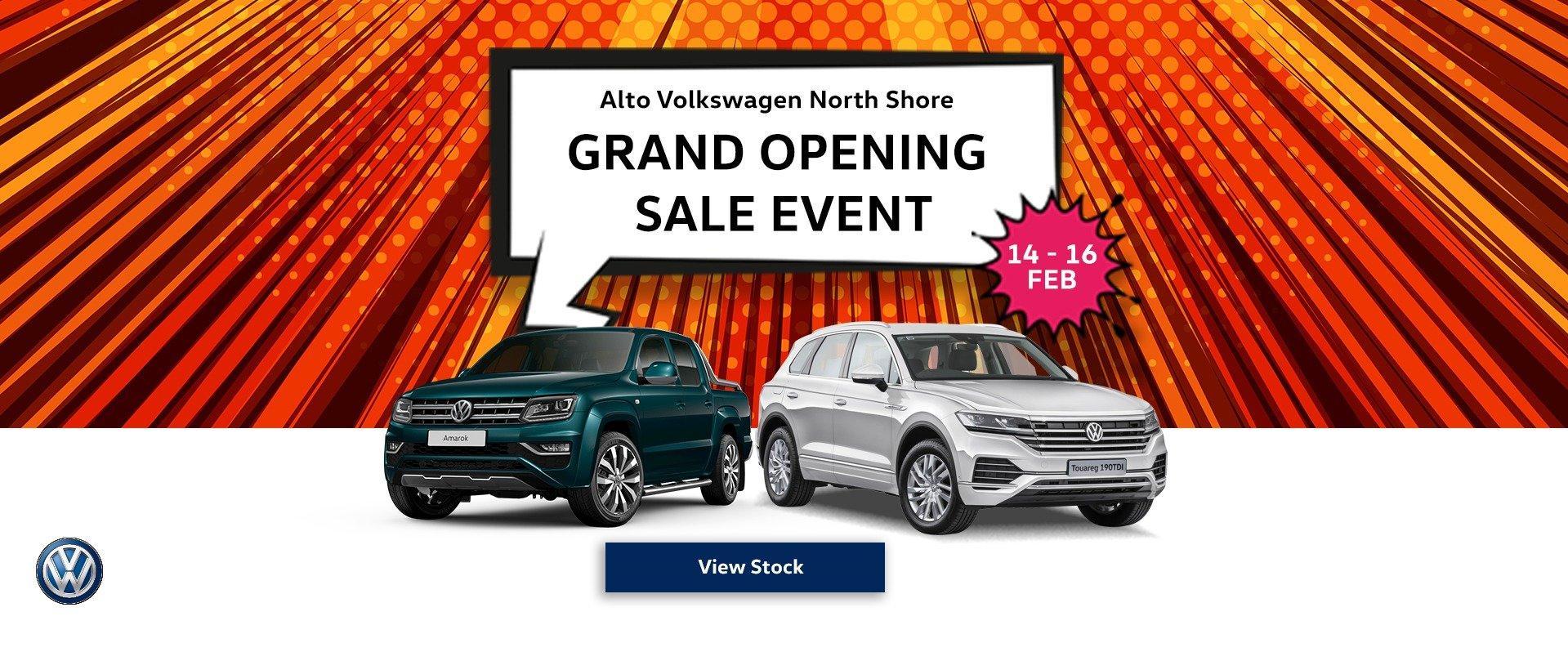 Alto Volkswagen North Shore Grand Opening
