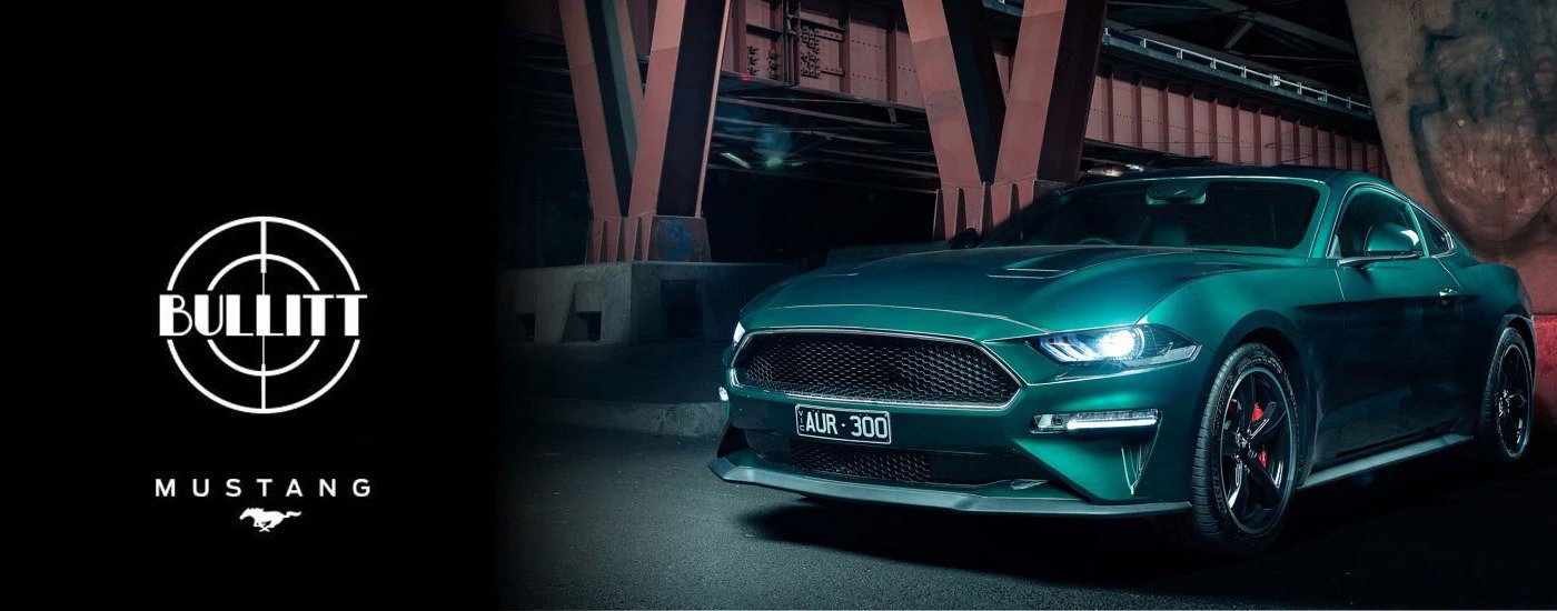 Mustang Bullitt 50th Year Anniversary
