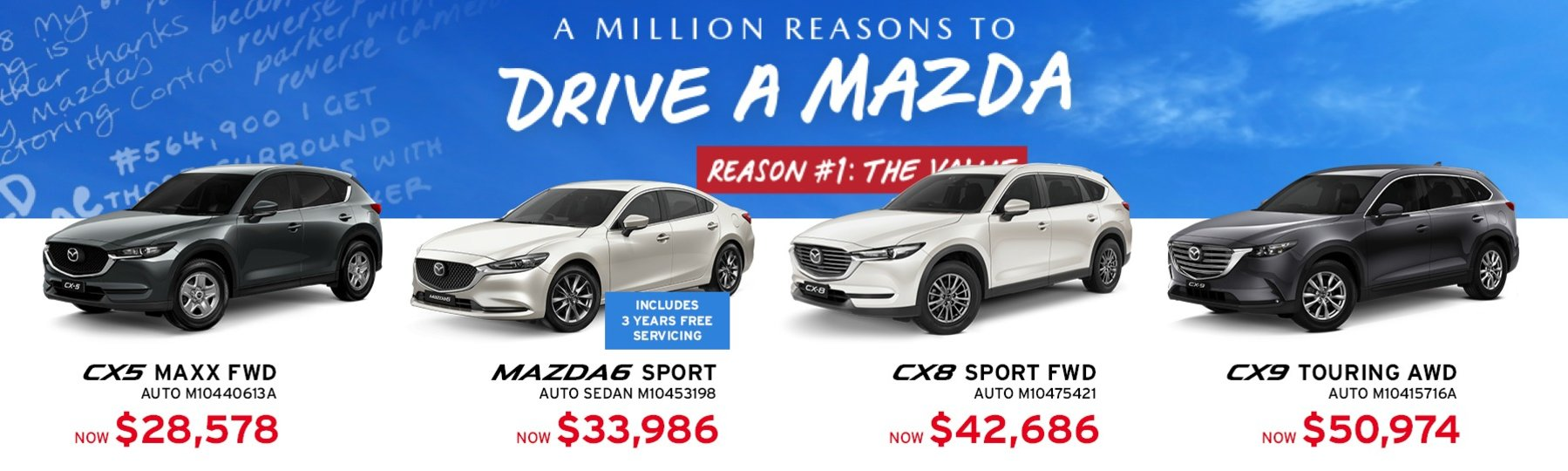 Maitland Mazda Specials