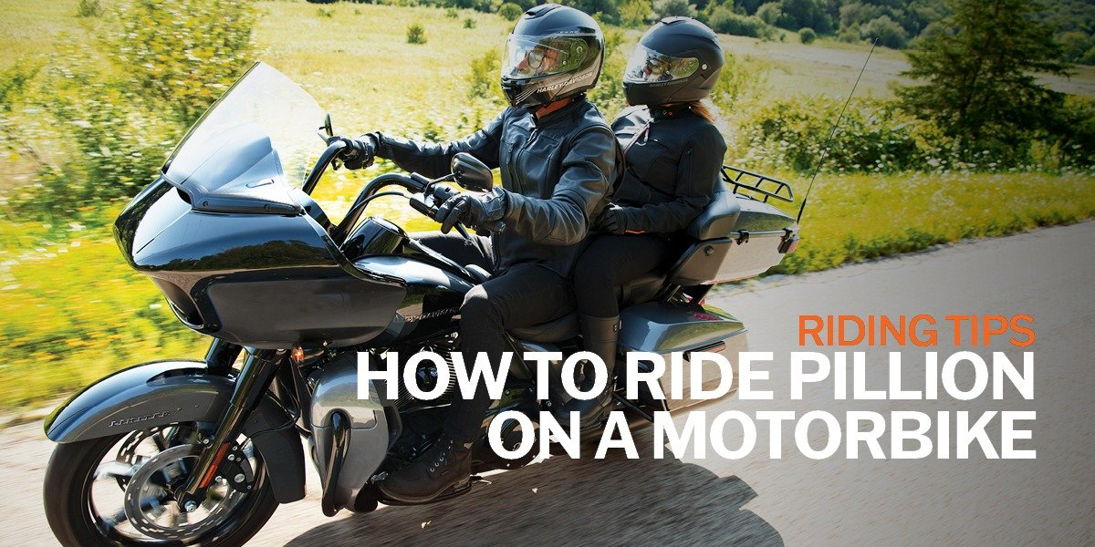 blog large image - How To Ride Pillion On A Motorbike | Riding Tips