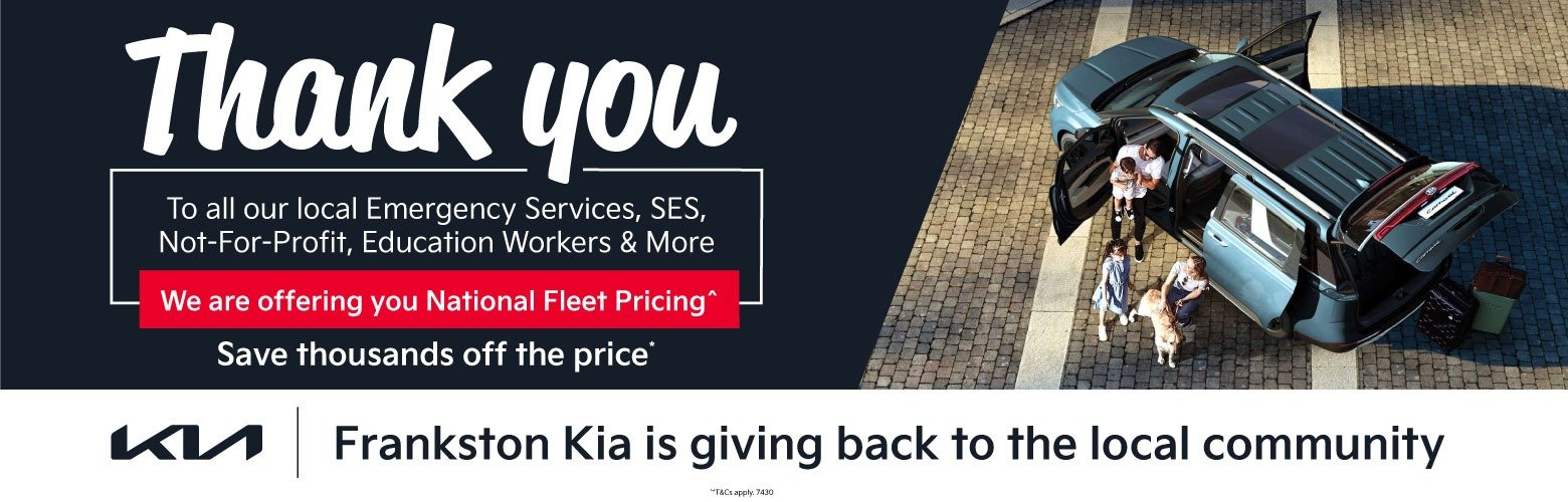 Frankston Kia - Thank You