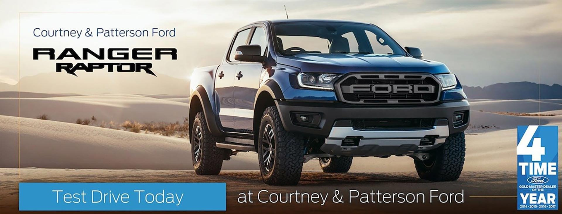 Raptor at Courtney and Patterson Ford