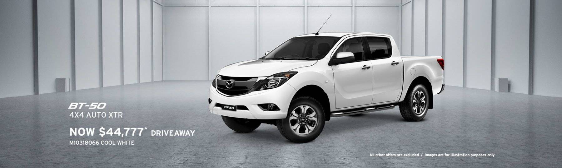 Newcastle Mazda, BT50