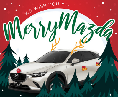 We Wish You A Merry Mazda image