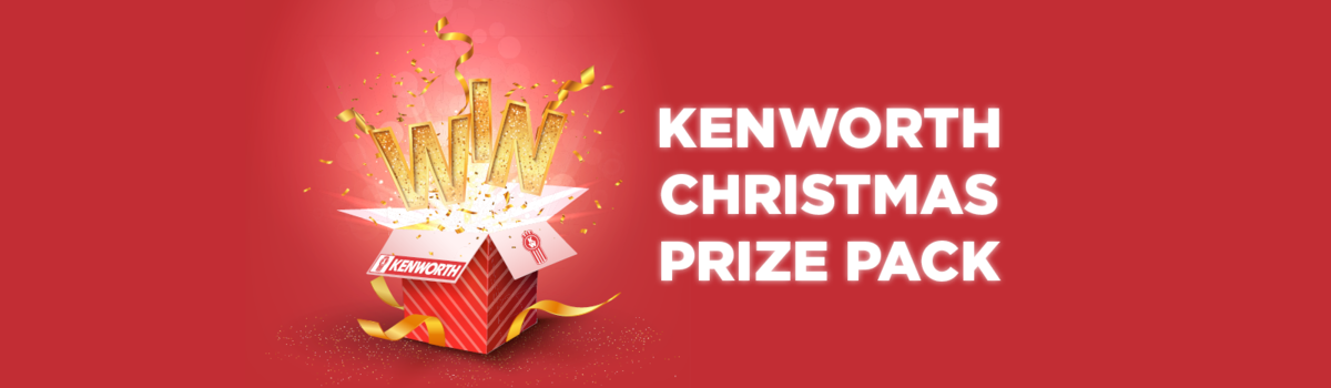 You could WIN a Kenworth Christmas Prize Pack! Large Image