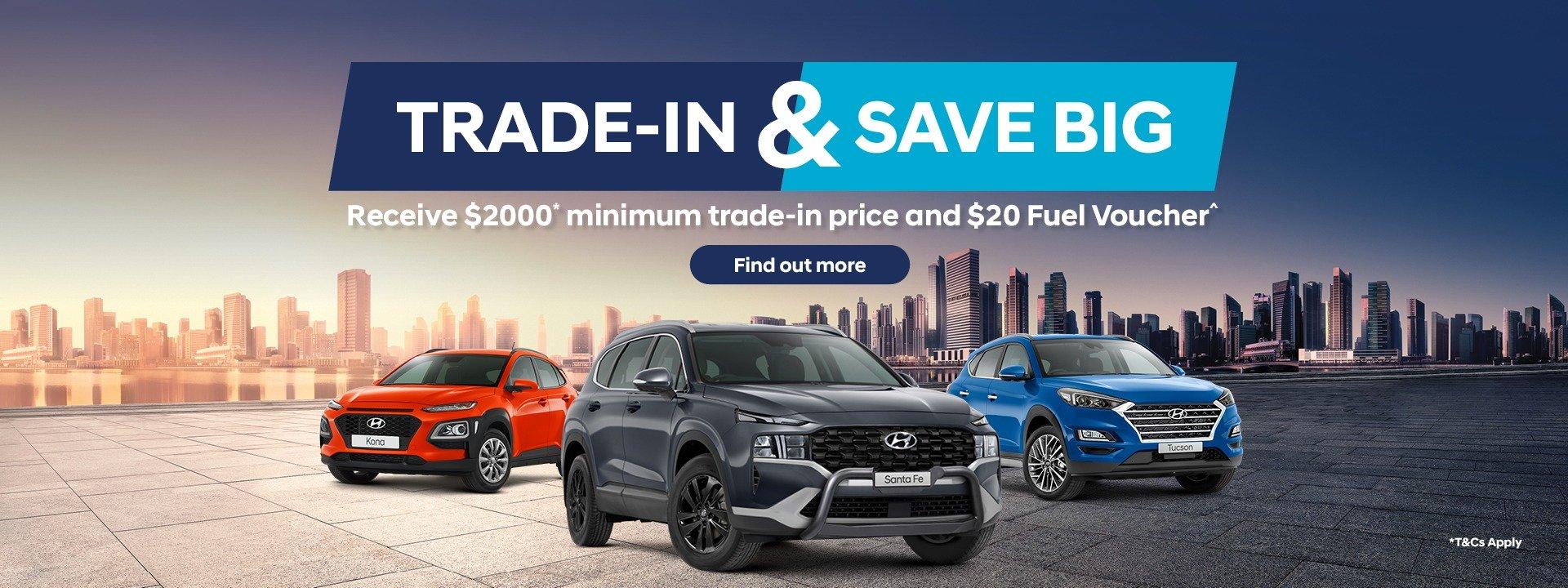 Mantello Hyundai Roxburgh Park Trade-in Offer
