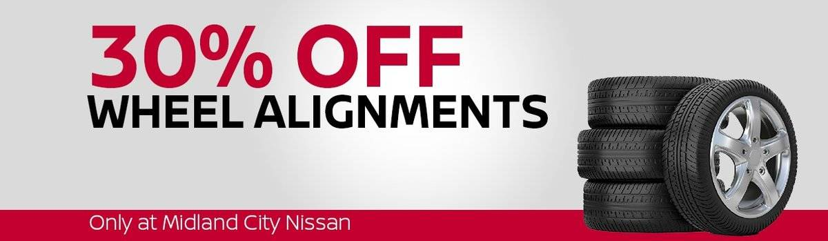 30% Off Wheel Alignment Special Large Image