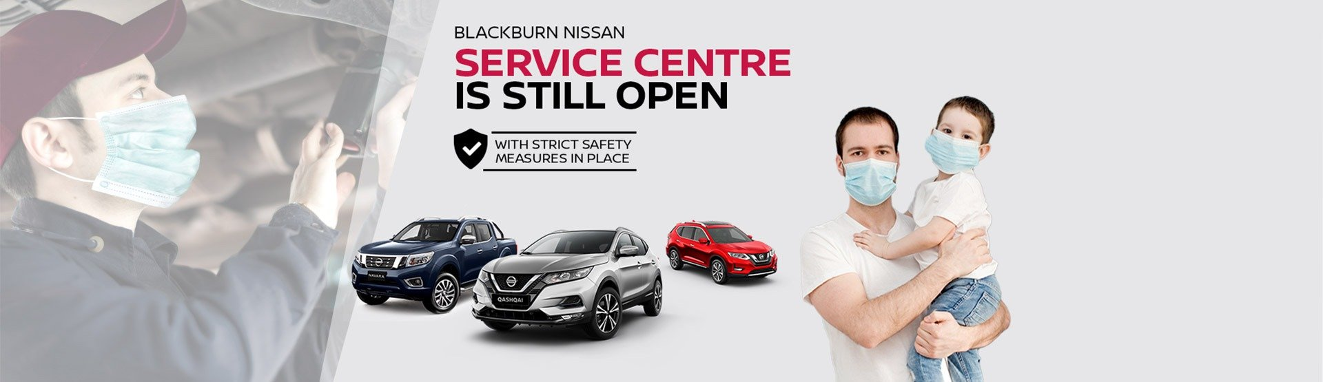 Blackburn Nissan Service still open