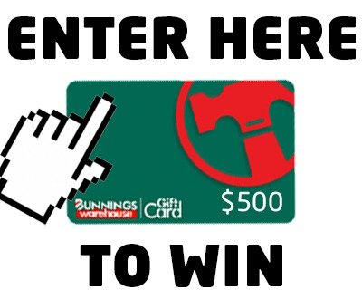 win a bunnings gift card image
