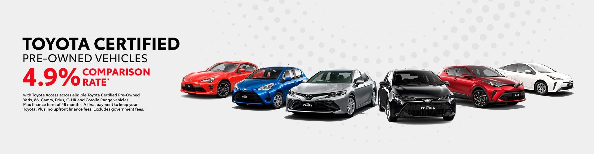 Scarboro Toyota - Certified Pre-Owned Vehicle 4.9% Finance Offer