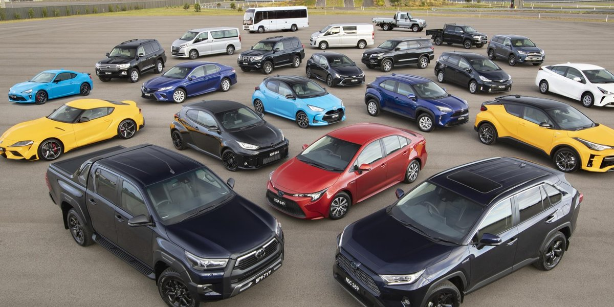 blog large image - TOYOTA LEADS INDUSTRY ABOVE 900,000 SALES IN 2020