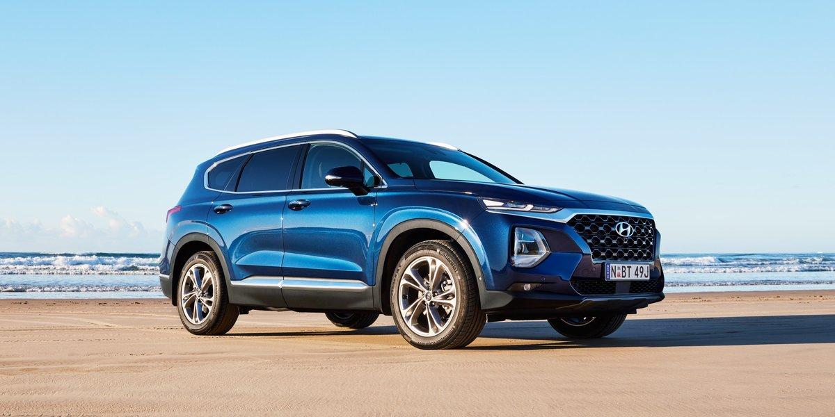 blog large image - Hyundai Santa Fe wins 2020 Drive Large SUV of the Year