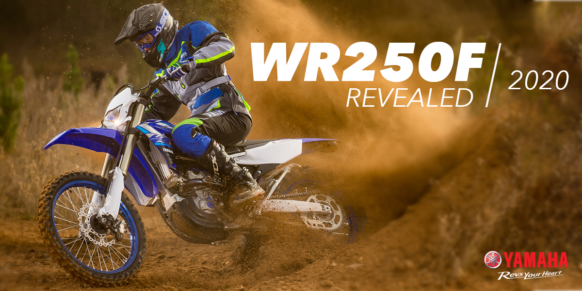 blog large image - All-new 2020 WR250F revealed!