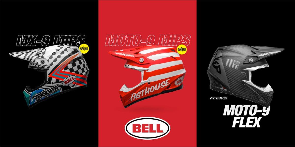 blog large image - Bell 2020 Motocross Helmets