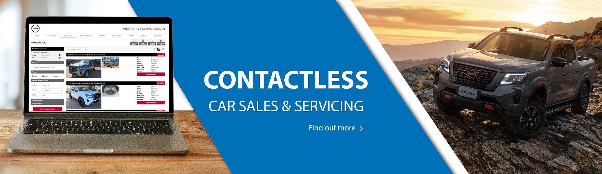 Contactless Car Sales Nissan