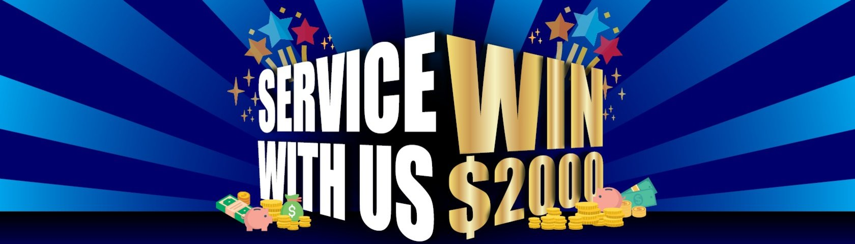 Service to win $2000