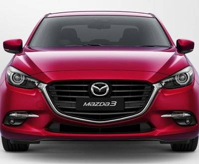 Mazda3 front view square image