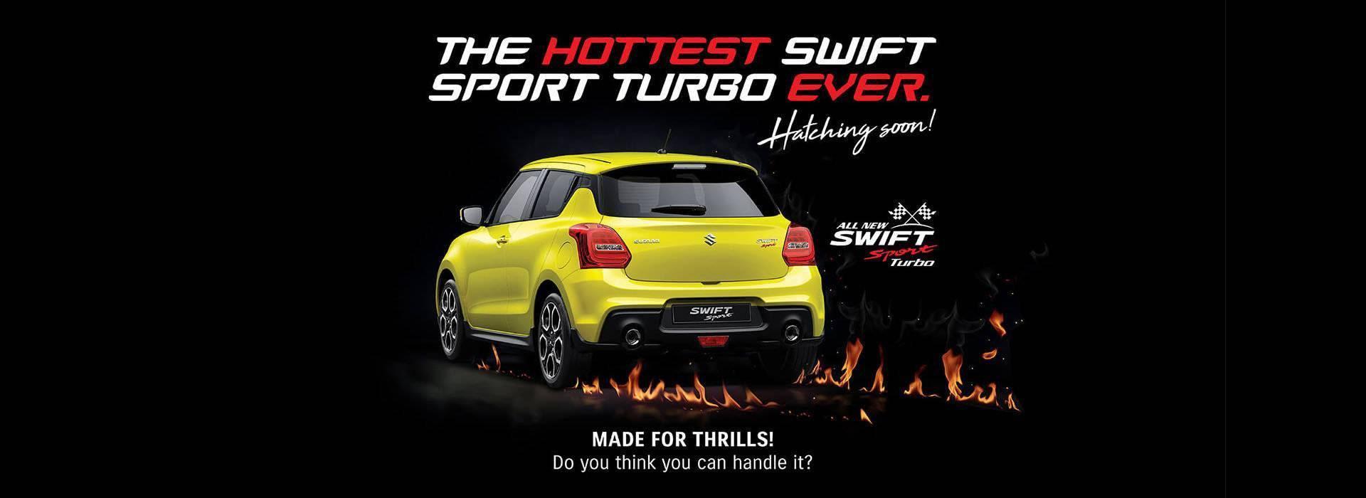 Parry NQ Suzuki Swift Sport Turbo