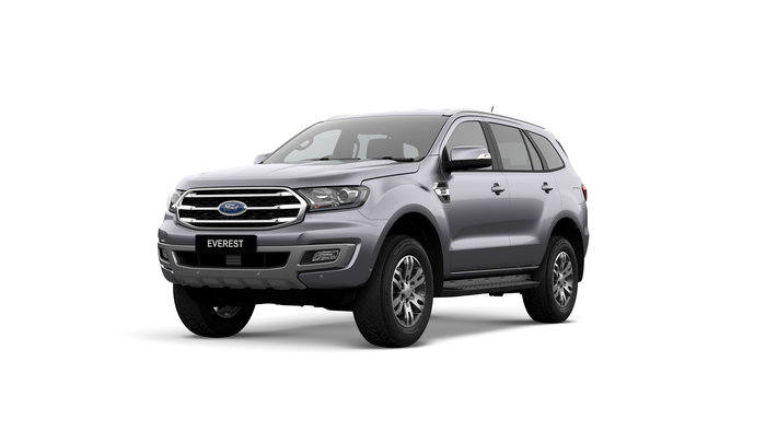 2019 Everest Trend This is the MY2019 Ford Everest Trend. Family, fun, FREEDOM, Work / Life Balance - these are just some of the words to describe life in an Everest. Designed as a competitor to the TOYOTA PRADO, the TURBO DIESEL EVEREST is a joy to drive.<br/><br/> Featuring standard side steps, leather interior with electric driver seat, electric tailgate, front and reverse sensors and reversing camera, this model is value pack. Complete with safety which includes: Lane Departure Warning and Assist, Pre-Collison Assist with AEB, Trailer Sway Control, Roll Over Mitigation, Traffic Sign Recognition & Pedestrian Detection and Adaptive Cruise.<br/><br/> Make sure you experience the EVEREST before making your decision on a new SUV!<br/><br/> Find out why people buy with confidence from our family owned business, which has been operating out of Queensland for 28 years.<br/><br/> With a comprehensive display of Ford product, covering the Passenger and Commercial vehicle ranges we are confident you will find just what you are looking for.