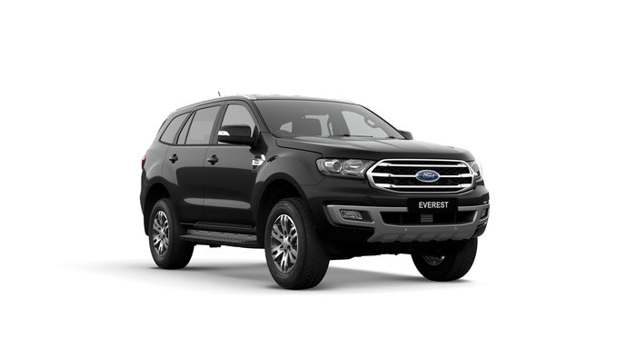 2019 Everest Trend This is the MY2019 Ford Everest Ambiente. Family, fun, FREEDOM, Work / Life Balance - these are just some of the words to describe life in an Everest.Designed to be comparable to a TOYOTA PRADO, the TURBO DIESEL EVEREST is a joy to drive.<br/><br/> Featuring standard side steps, leather interior with electric driver seat, electric tailgate, front and reverse sensors and reversing camera, this model is value pack. Complete with safety which includes: Lane Departure Warning and Assist, Pre-Collison Assist with AEB, Trailer Sway Control, Roll Over Mitigation, Traffic Sign Recognition & Pedestrian Detection and Adaptive Cruise.<br/><br/> Make sure you experience the EVEREST before making your decision on a new SUV!<br/><br/> Find out why people buy with confidence from our family owned business, which has been operating out of Queensland for 28 years.<br/><br/> With a comprehensive display of Ford product, covering the Passenger and Commercial vehicle ranges we are confident you will find just what you are looking for.<br/><br/>