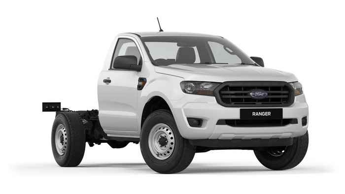 2018 Ranger XL Hi-Rider ***MY19 RANGER XL SUPER CAB CHASSIS 4X2 HI RIDER AUTO 2.2L HAS ARRIVED AND NOW COMES STANDARD WITH A 5 YEAR UNLIMITED KILOMETRE FACTORY ***.<br/>PRICED FOR ABN HOLDERS AND WITHOUT A TRAY!<br/>We can fit any tray or body to suit your needs!<br/><br/>All our vehicles come with an EXTRA FREE 1YR/175,000KM PROTECTION PLAN, Service price promise for life, FREE LOAN VEHICLE and up to 7 years RACV Road Side Assistance.<br/><br/>PX MKII MY19 RANGER XL SUPER CAB CHASSIS 4x2 2.2L AUTO HI RIDER FEATURES INCLUDE:<br/><br/>* Ford Sync with emergency Assistance<br/>* Bluetooth system with voice recognition<br/>* Electronic Power Assisted Steering<br/>* Cruise control with Speed Limiter<br/>* Hill holder.<br/>* 16 steel rims<br/>* Automatic headlights<br/>* eLocking rear differential<br/>* Trailer sway and roll over stability control<br/>* Vinyl flooring<br/>* 3500kg towing capacity<br/>* 6 airbags<br/>* 2 front auxiliary 12V power outlets<br/>* 4.2<br/> Colour Multi-Function Display<br/>* Single CD Player (MP3 compatible)<br/>* Climate Control Single Zone manual<br/> * 2 front auxiliary 12V power outlets<br/>* 230V inverter in rear console<br/><br/>Created and engineered in Australia, the Ranger XL Super Cab chassis 4x2 HI RIDER Auto is ready to take on the world. Designed with the driver in mind, the Ranger XL comes equipped with the latest entertainment and connectivity technology, making it feel more like a modern luxury SUV then a hard working truck.<br/><br/>Our dealership is your one-stop shop for your vehicle purchases, with friendly local staff, offering the best in customer service and fantastic deals, huge on-site inventory, finance packages designed and tailored to your needs and competitive trade-ins. We'll go 'Above and Beyond' to ensure your satisfaction. Located in Melbourne's Eastern Suburbs at the foot of the mountains we provide a unique and unforgettable test-drive experience.<br/>***MY19 RANGER XL SUPER CAB CHASSIS 4X2 HI RIDER AUTO 2.2L HAS ARRIVED AND NOW COMES STANDARD WITH A 5 YEAR UNLIMITED KILOMETRE FACTORY ***.<br/>PRICED FOR ABN HOLDERS AND WITHOUT A TRAY!<br/>We can fit any tray or body to suit your needs!<br/><br/>All our vehicles come with an EXTRA FREE 1YR/175,000KM PROTECTION PLAN, Service price promise for life, FREE LOAN VEHICLE and up to 7 years RACV Road Side Assistance.<br/><br/>PX MKII MY19 RANGER XL SUPER CAB CHASSIS 4x2 2.2L AUTO HI RIDER FEATURES INCLUDE:<br/><br/>* Ford Sync with emergency Assistance<br/>* Bluetooth system with voice recognition<br/>* Electronic Power Assisted Steering<br/>* Cruise control with Speed Limiter<br/>* Hill holder.<br/>* 16 steel rims<br/>* Automatic headlights<br/>* eLocking rear differential<br/>* Trailer sway and roll over stability control<br/>* Vinyl flooring<br/>* 3500kg towing capacity<br/>* 6 airbags<br/>* 2 front auxiliary 12V power outlets<br/>* 4.2<br/> Colour Multi-Function Display<br/>* Single CD Player (MP3 compatible)<br/>* Climate Control Single Zone manual<br/> * 2 front auxiliary 12V power outlets<br/>* 230V inverter in rear console<br/><br/>Created and engineered in Australia, the Ranger XL Super Cab chassis 4x2 HI RIDER Auto is ready to take on the world. Designed with the driver in mind, the Ranger XL comes equipped with the latest entertainment and connectivity technology, making it feel more like a modern luxury SUV then a hard working truck.<br/><br/>Our dealership is your one-stop shop for your vehicle purchases, with friendly local staff, offering the best in customer service and fantastic deals, huge on-site inventory, finance packages designed and tailored to your needs and competitive trade-ins. We'll go 'Above and Beyond' to ensure your satisfaction. Located in Melbourne's Eastern Suburbs at the foot of the mountains we provide a unique and unforgettable test-drive experience.