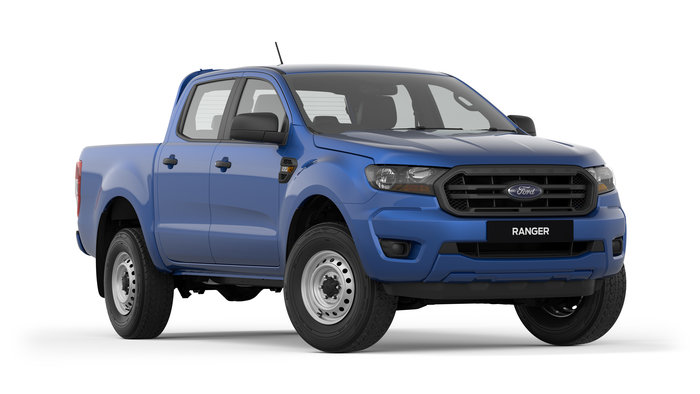 2018 RANGER XL PX MkIII MY19 XL Hi-Rider Pick-up Double Cab 4dr Spts Auto 6sp 4x2 1235kg 2.2DT