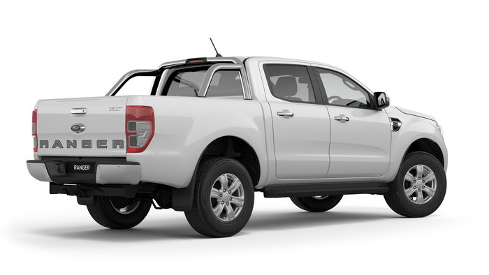 2019 Ranger XLT Introducing the Ford Ranger XLT Fully Loaded. This value pack Ranger includes factory 18inch black alloy wheels, tech pack, metallic paint and leatherseats.<br/><br/> The Ranger XLT is fitted with Side Steps, Tub Liner, Sports Bar and Tow Pack as standard! Reverse Camera on a large 8 Inch Colour Touch Screen loadedwith Fords SYNC3 Operating System with Apple Car Play and Android Auto capabilities, Sat Nav, Dual Zone Climate Control, Front and Rear Parking Sensors are all included!<br/><br/> Standard safety features now include Lane Departure Warning and Aid, AEB with Pedestrian Detection and Pre-Collision Warning and Assist, Speed Sign Recognition and Trailer Sway Control.<br/><br/> All this in a Tough refined Utility with Comfort levels far beyond the average Ute! Add to the already impressive features, a STRONG, POWERFUL and EFFICIENT Turbo Diesel engine with 3.5 tonne max braked towing and smooth and responsive 6 Speed Transmission and all the boxes are ticked. Find out whypeople buy with confidence from our family owned business, which has been operating out of Queensland for 28 years.