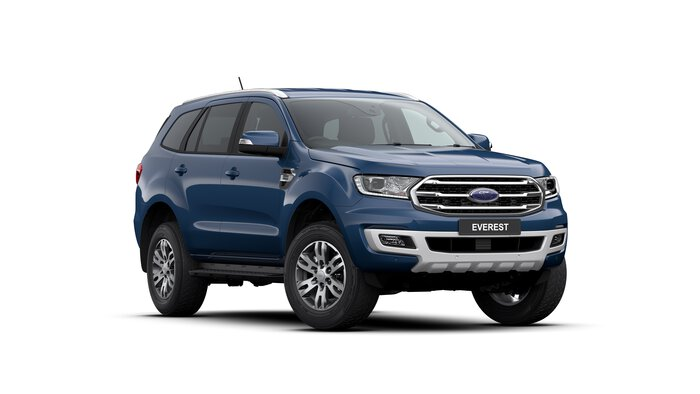 2020 Everest Trend This is the MY2020.75 Ford Everest Trend. Family, fun, FREEDOM, Work / Life Balance - these are just some of the words to describe life in an Everest.Designed as a competitor to the TOYOTA PRADO, the TURBO DIESEL EVEREST is a joy to drive.<br/><br/> Featuring standard side steps, leather interior with electric driver seat, electric tailgate, front and reverse sensors and reversing camera, this model is value pack. Complete with safety which includes: Lane Departure Warning and Assist, Pre-Collison Assist with AEB, Trailer Sway Control, Roll Over Mitigation, Traffic Sign Recognition & Pedestrian Detection and Adaptive Cruise.<br/><br/> Make sure you experience the EVEREST before making your decision on a new SUV!<br/><br/> Find out why people buy with confidence from our family owned business, which has been operating out of Queensland for 28 years.<br/><br/> With a comprehensive display of Ford product, covering the Passenger an We are dedicated to providing a safe environment for our customers and staff during the COVID-19 pandemic. Our staff are trained and available to take your enquiry via your preferred video call - Facetime, Zoom or Skype This provides you the opportunity to see the vehicle and still ask our Sales team any questions you have. Once you have decided this is the vehicle you want,we can provide you with the option of either unaccompanied or overnight test drives. We can bring the vehicle to you, providing a contactless serviceand ensure the vehicle is sanitised before giving you the keys. Finally, our vehicles are sanitised after every test drive with areas in the vehiclesuch as steering wheels, gear shifters, doorhandles and internal console buttons all being sanitised multiple times per day. We are here to provide you the safest yet best experience possible.