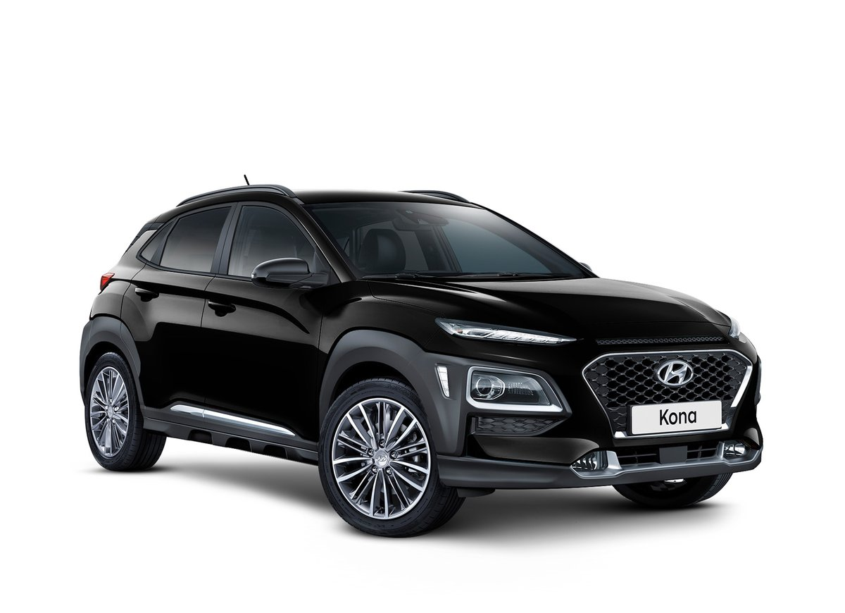2017 Hyundai Kona Elite Os Black For Sale In Midland
