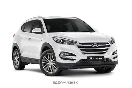 2018 TUCSON ACTIVE X CRDI (AWD)