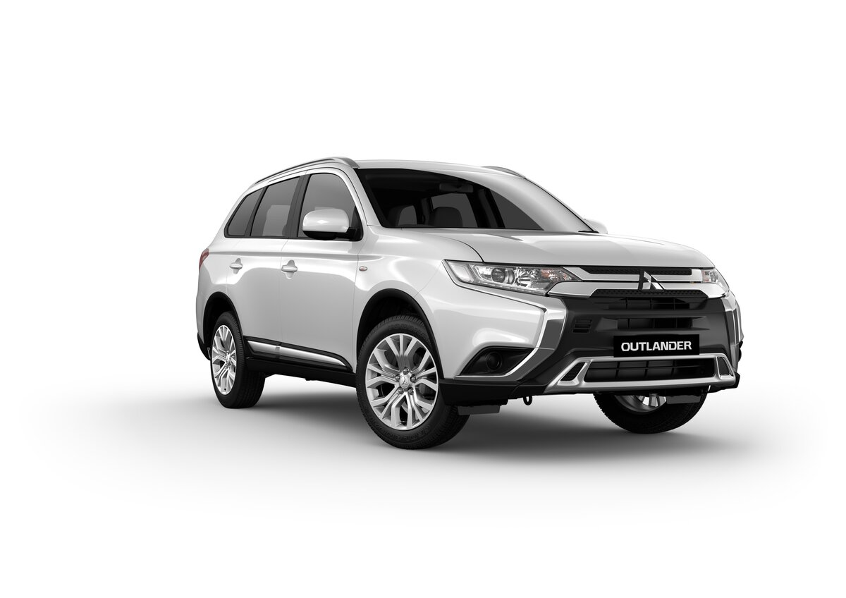 2018 mitsubishi outlander es zl white for sale in dandenong melbourne dandenong mitsubishi. Black Bedroom Furniture Sets. Home Design Ideas