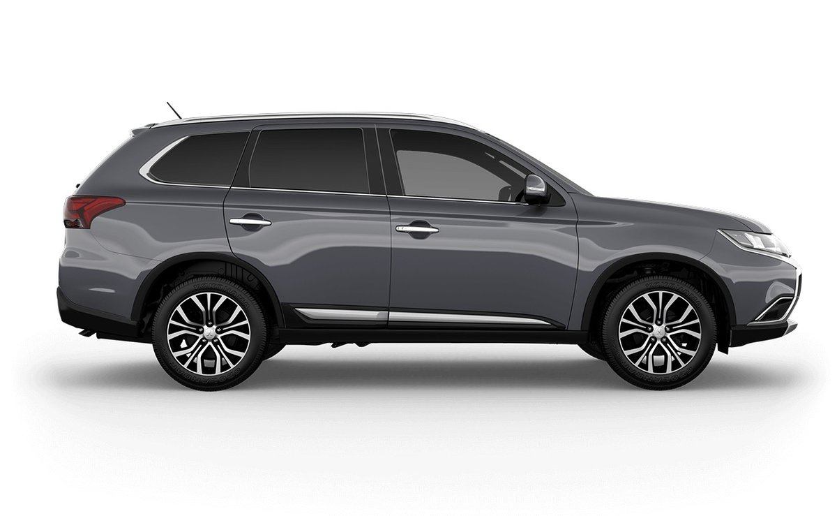 2017 mitsubishi outlander exceed 7 seat awd zl my18 5. Black Bedroom Furniture Sets. Home Design Ideas