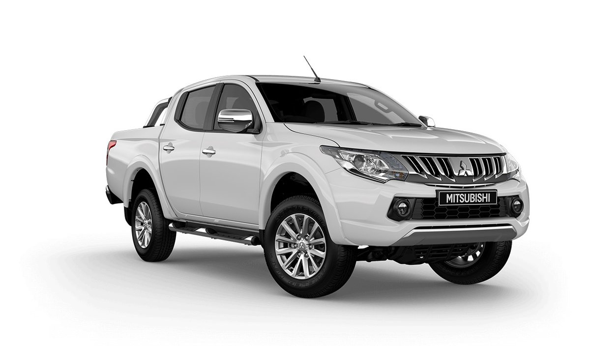 2018 mitsubishi triton gls 4x4 blackline mq my18 white for sale in footscray alan mance. Black Bedroom Furniture Sets. Home Design Ideas