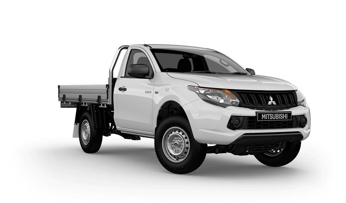 2017 Mitsubishi Triton GLX MQ (White) for sale in Wangara - Wanneroo