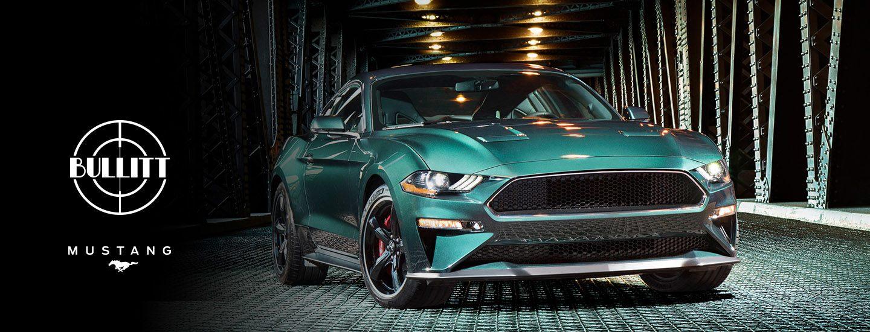 Mustang BULLITT Banner