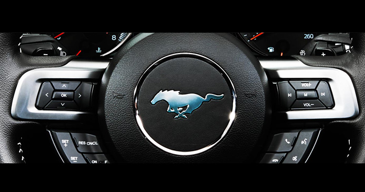 Mustang SelectShift With Paddle Shifters