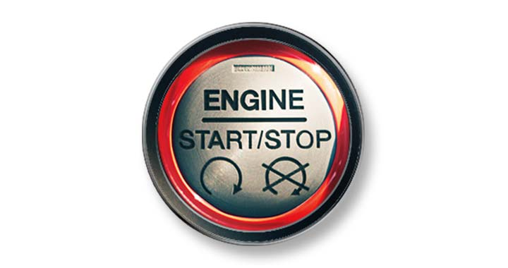 Mustang Push-button Start