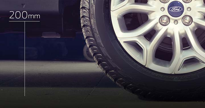 200mm Ground Clearance