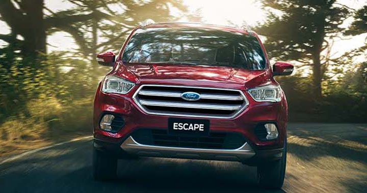 Front Red Escape