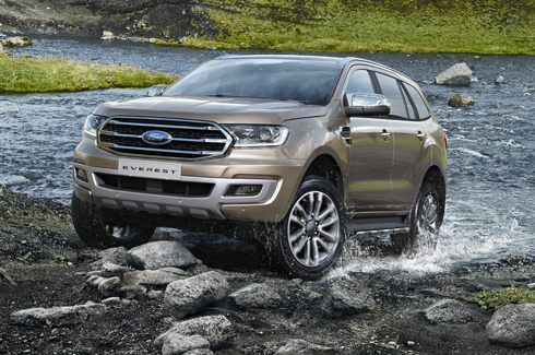2019 Ford Everest - Nova Ford