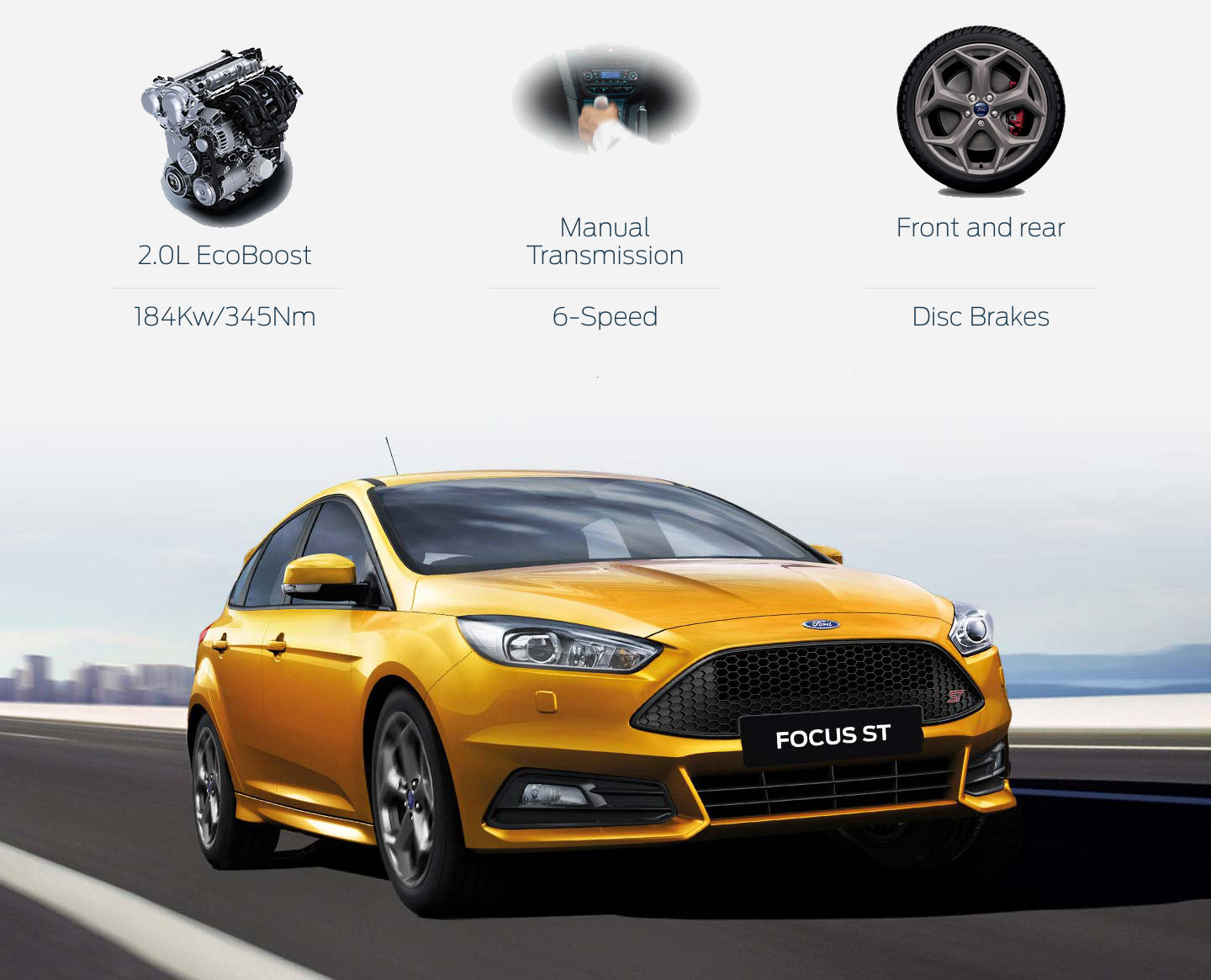 Focus ST Power Without Compromise