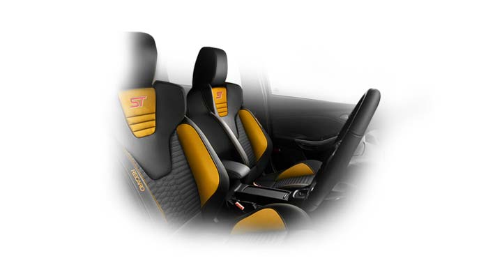 Focus ST Recaro Racing Seats