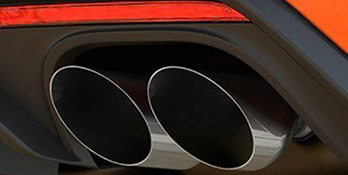 Quad Tailpipes