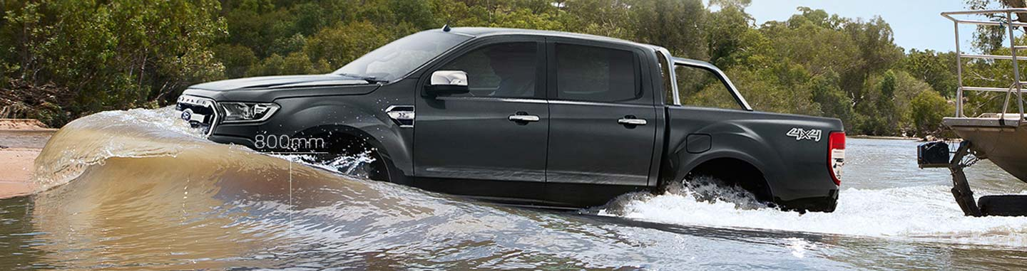 Ford Ranger Up to 800mm water wading