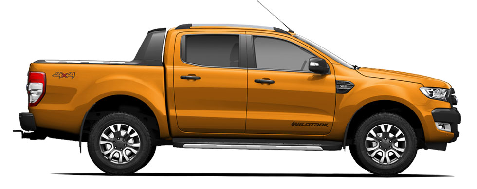 Ford Ranger Pride Orange
