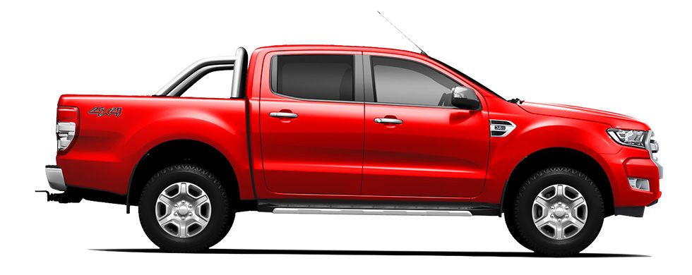 Ford Ranger Race Red